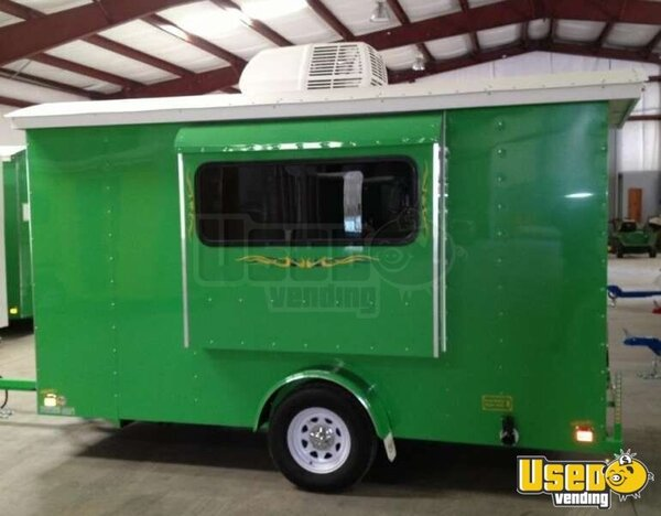2012 - 12' x 6' Sno Pro Shaved Ice Concession Trailer!!!