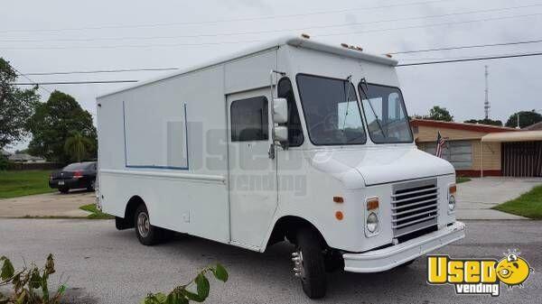 Isuzu Step Van Truck For Conversion Sale In Florida