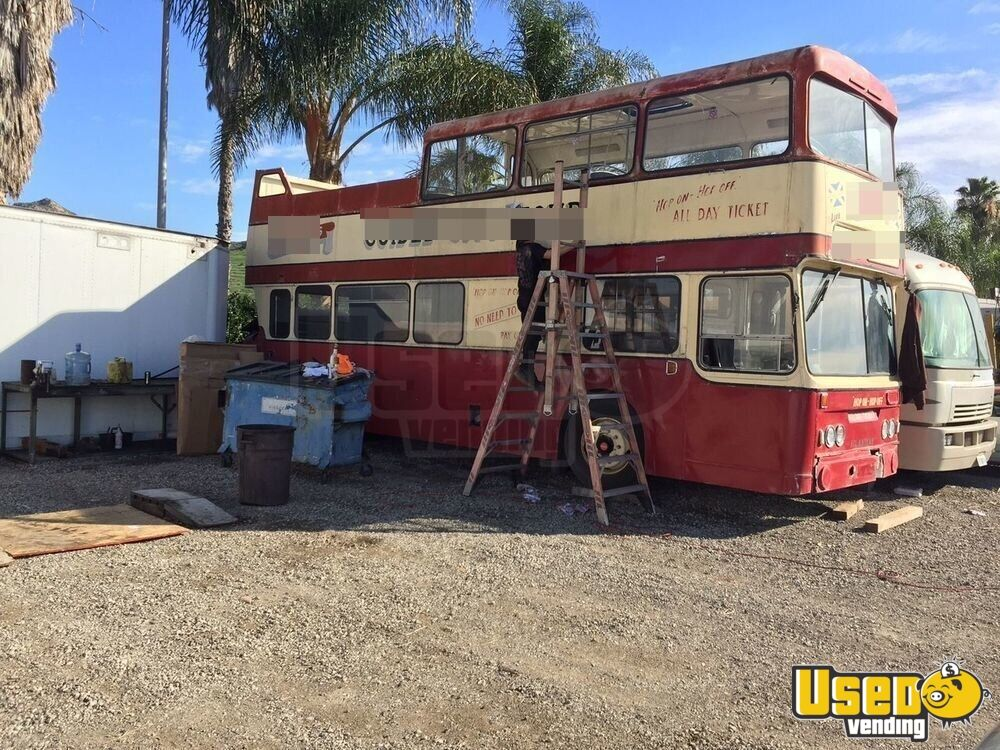 Vintage double decker bus for sale in california 1