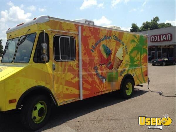 gmc p3v food truck ice cream truck for sale in arkansas. Black Bedroom Furniture Sets. Home Design Ideas