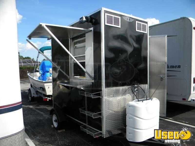 11x4 Food Concession Trailer Mini Food Trailer Small