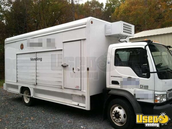 Used International CF600 Food Truck in New York for Sale!!!