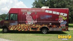 Florida BBQ Food Truck / Catering Truck for Sale - Small 3