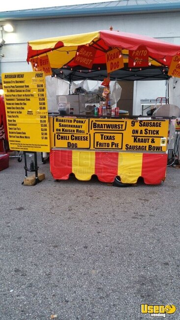 Used Hot Dog Cart For Sale In Texas