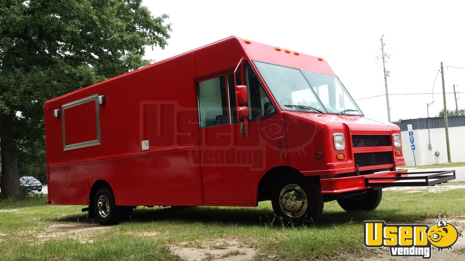 Ford E350 Food Truck
