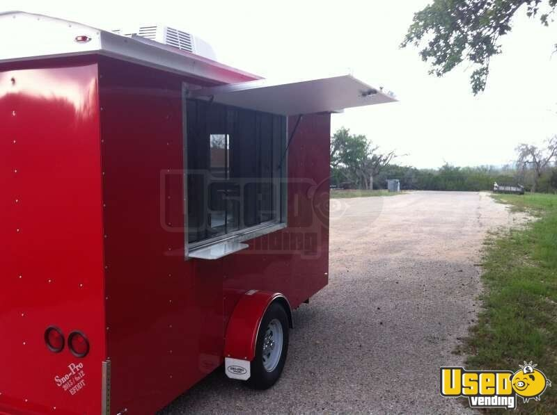 2015 6' x 12' Sno-Pro Shaved Ice Concession Trailer - 5