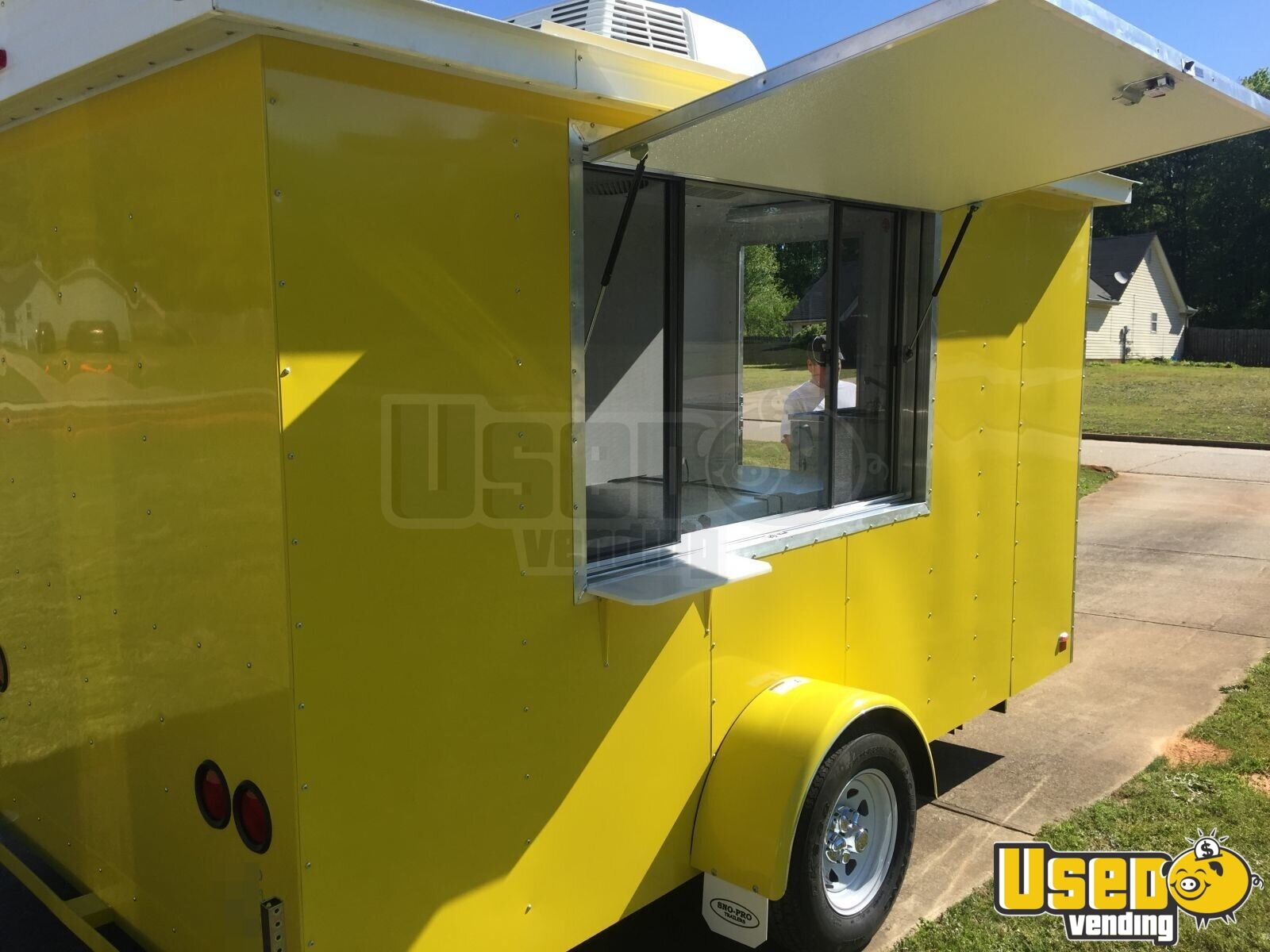 2017 6' x 12' Sno-Pro Shaved Ice Concession Trailer - 11