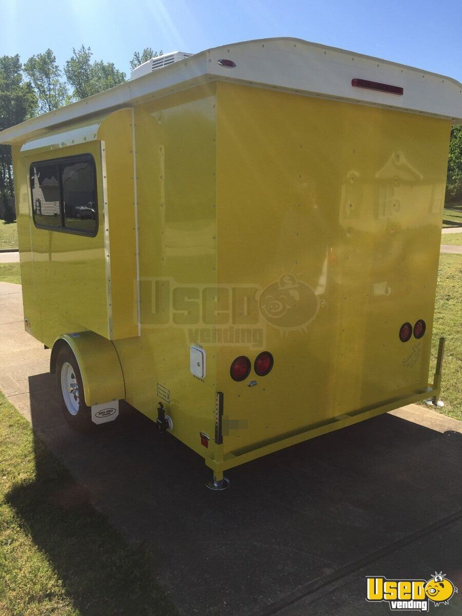 2016 6' x 12' Sno-Pro Shaved Ice Concession Trailer - 9