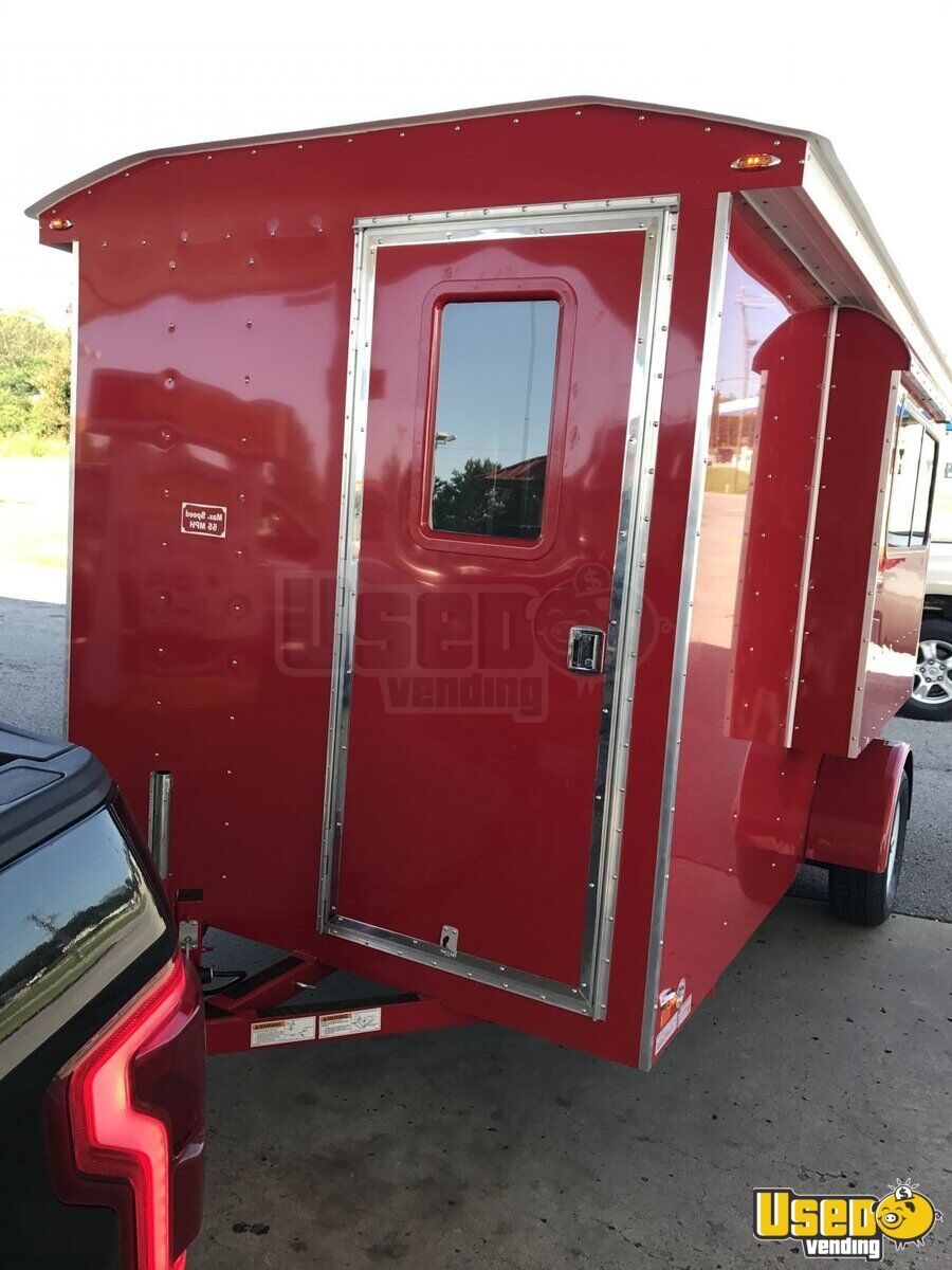 2017 6' x 12' Sno-Pro Shaved Ice Concession Trailer - 2
