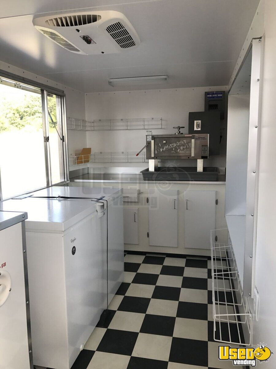 2017 6' x 12' Sno-Pro Shaved Ice Concession Trailer - 17
