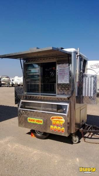 6 Custom Compact Mobile Food Trailer Small Mobile Kitchen