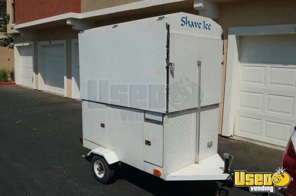 Shaved Ice Concession Trailer Snoball Trailer Custom