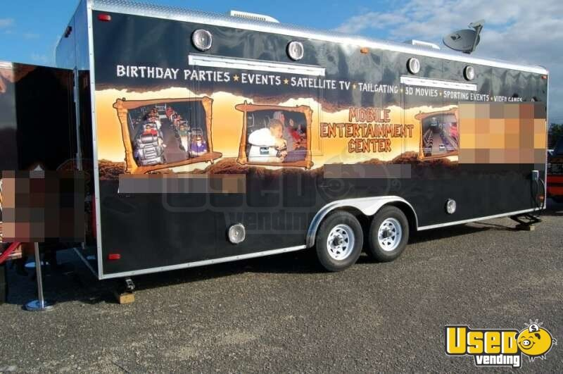 Ice Cream Trucks For Sale >> 26' Mobile Entertainment Center for Sale in Florida | Gaming Trailer