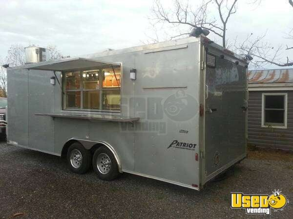 For Sale Used 2013 Concession Trailer In Virginia Mobile Kitchen