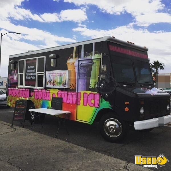 Shaved Ice Food Truck Mobile Kitchen For Sale In Nevada