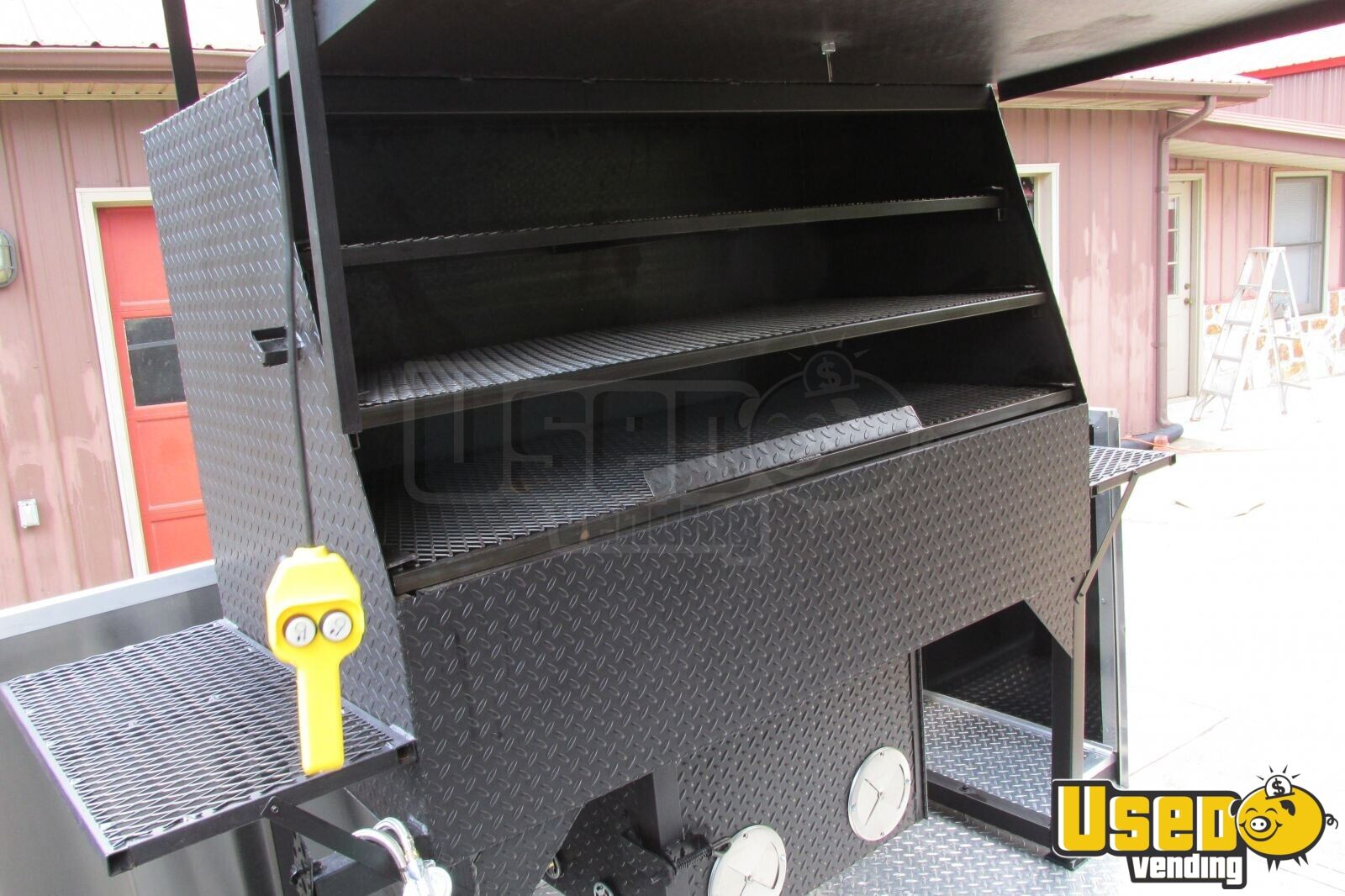 2015 - 22' x 8.5' Custom Built BBQ Porch Concession Trailer - 15