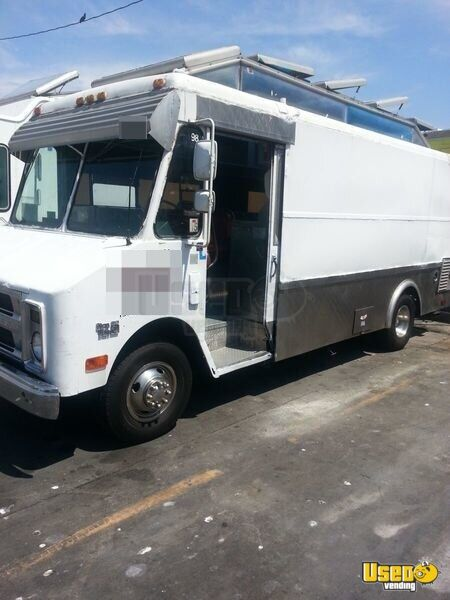 Used Chevy Food Truck Mobile Kitchen For Sale In California