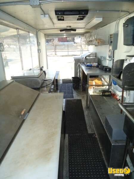 Chevrolet P30 Food Truck Mobile Kitchen for Sale in Missouri - 7