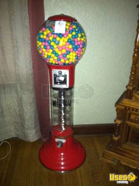 commercial gumball machine