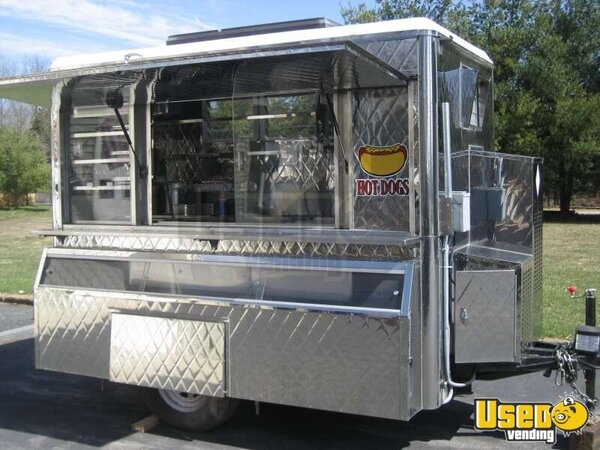 Custom Mobile Food Equipment Concession Trailer For Sale