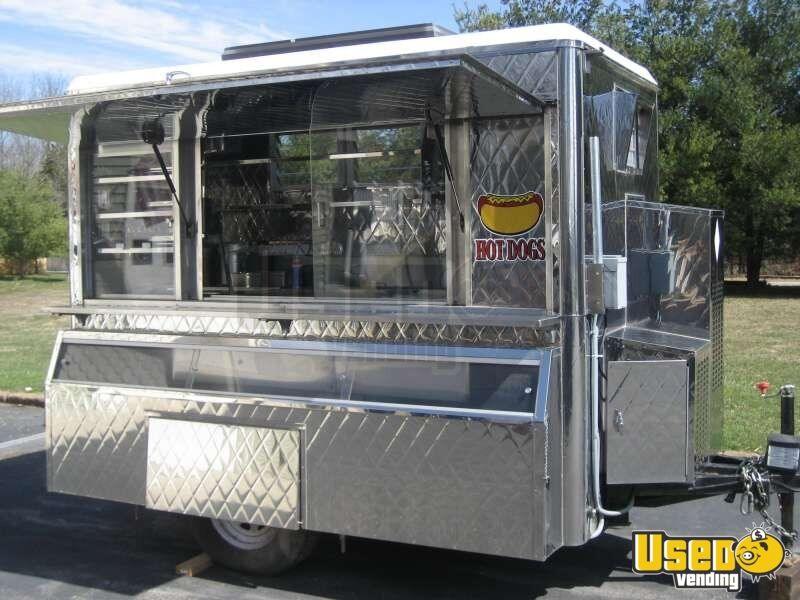 Custom Mobile Food Equipment Concession Trailer For Sale Small Kitchen Trailer
