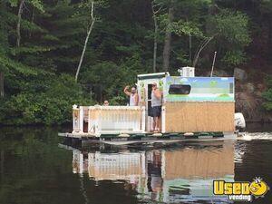 Pontoon Boat Food Truck For Sale