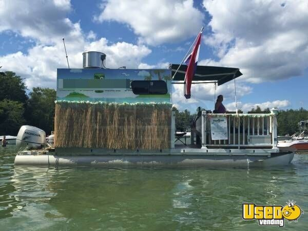 Used Concession Boat For Sale In New Hampshire Pontoon