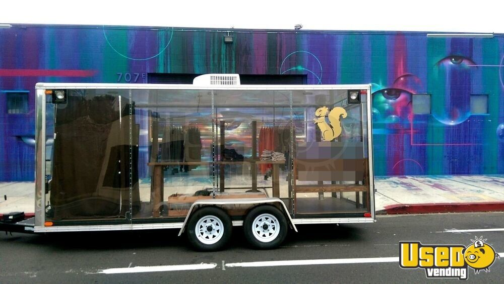 Clear Mobile Retail Store Trailer For Sale In California 4