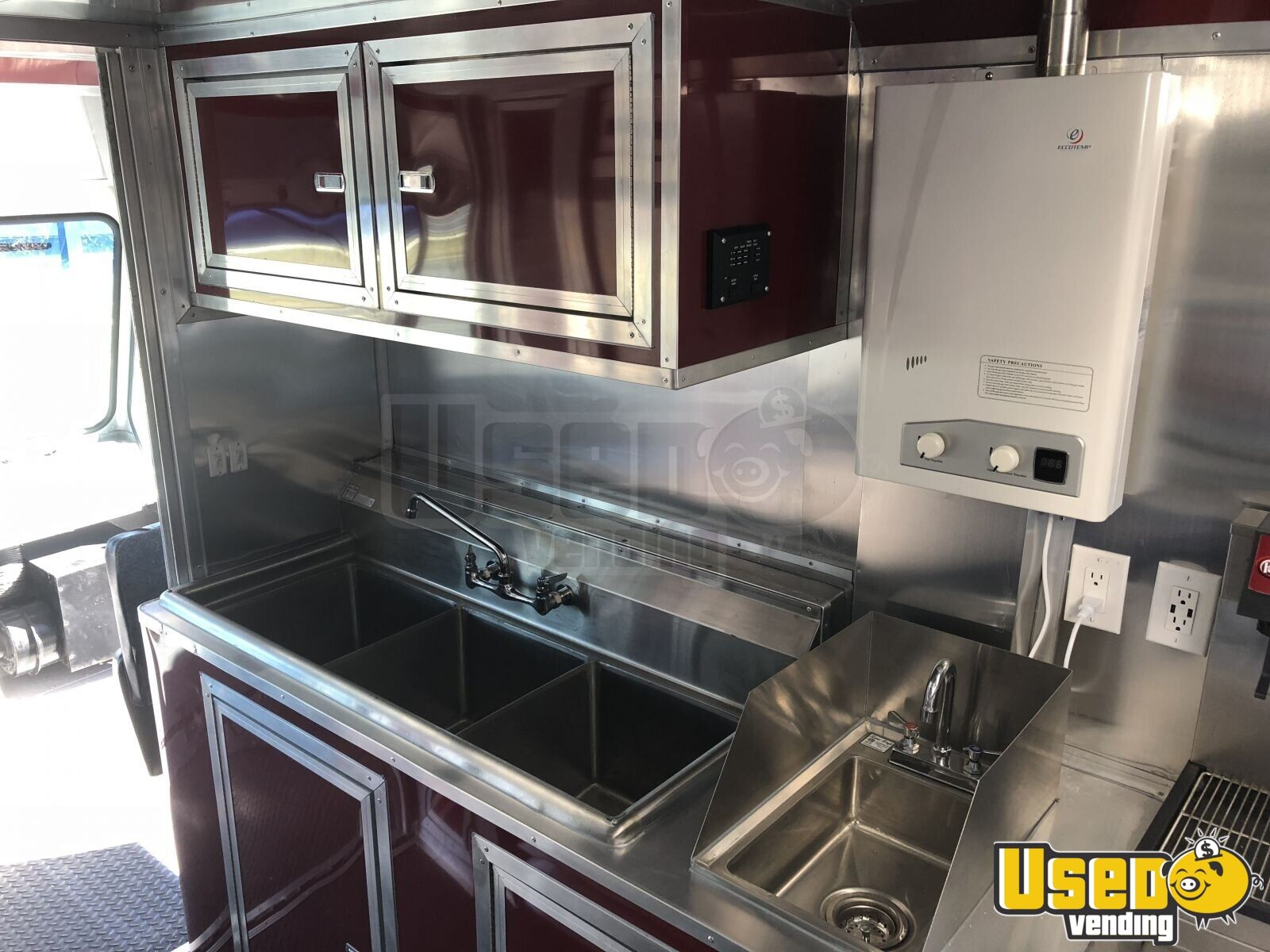 2005 Ford F450 Mobile Kitchen Food Truck for Sale in Florida- NEW KITCHEN - 19