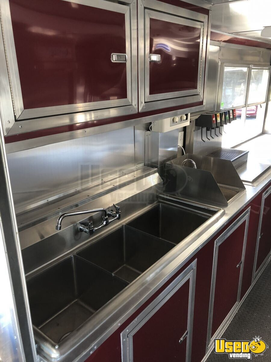 2005 Ford F450 Mobile Kitchen Food Truck for Sale in Florida- NEW KITCHEN - 18