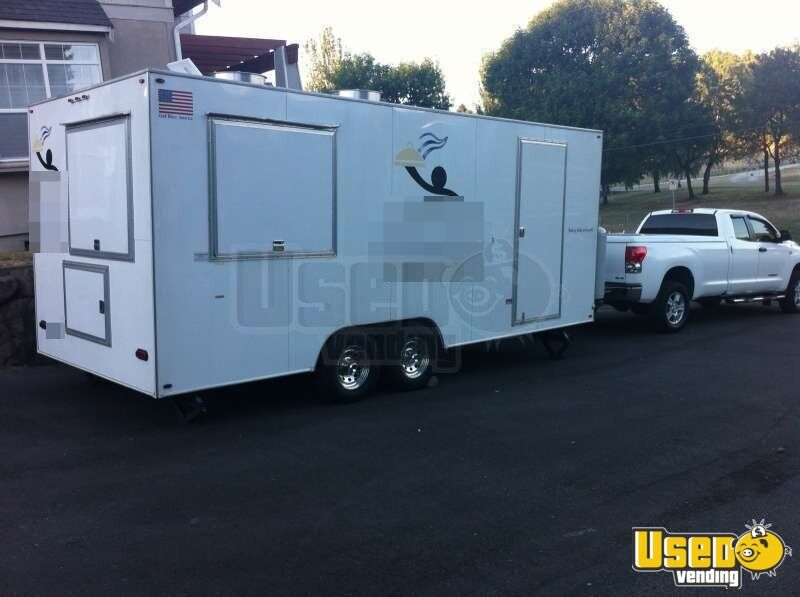 For Sale Used 2010 Westcoast Concession Trailer In Washington Mobile Kitchen