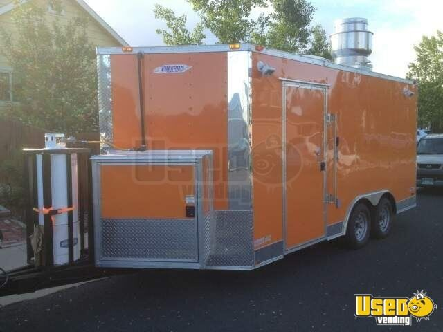 Used 2012 Freedom Concession Trailer In Colorado For Sale