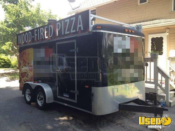14 Haulin Dual Axle Pizza Trailer Concession Trailer