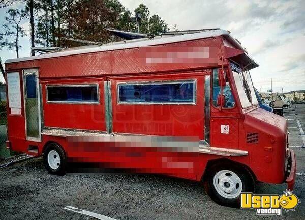 chevy food truck mobile kitchen for sale in florida. Black Bedroom Furniture Sets. Home Design Ideas