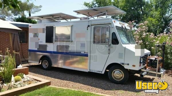chevy stepvan mobile kitchen food truck for sale in arizona. Black Bedroom Furniture Sets. Home Design Ideas