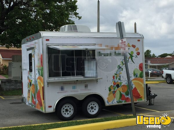 2014 - 8.5' x 12' Beverage Concession Trailer for Sale in Florida!!!
