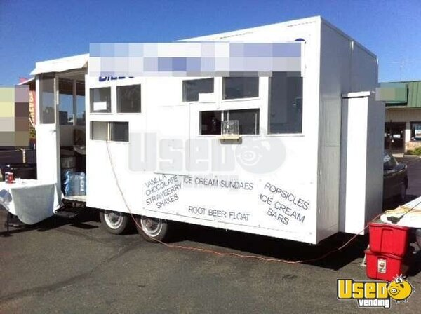1966 - 18' x 7' Food Concession Trailer!!!