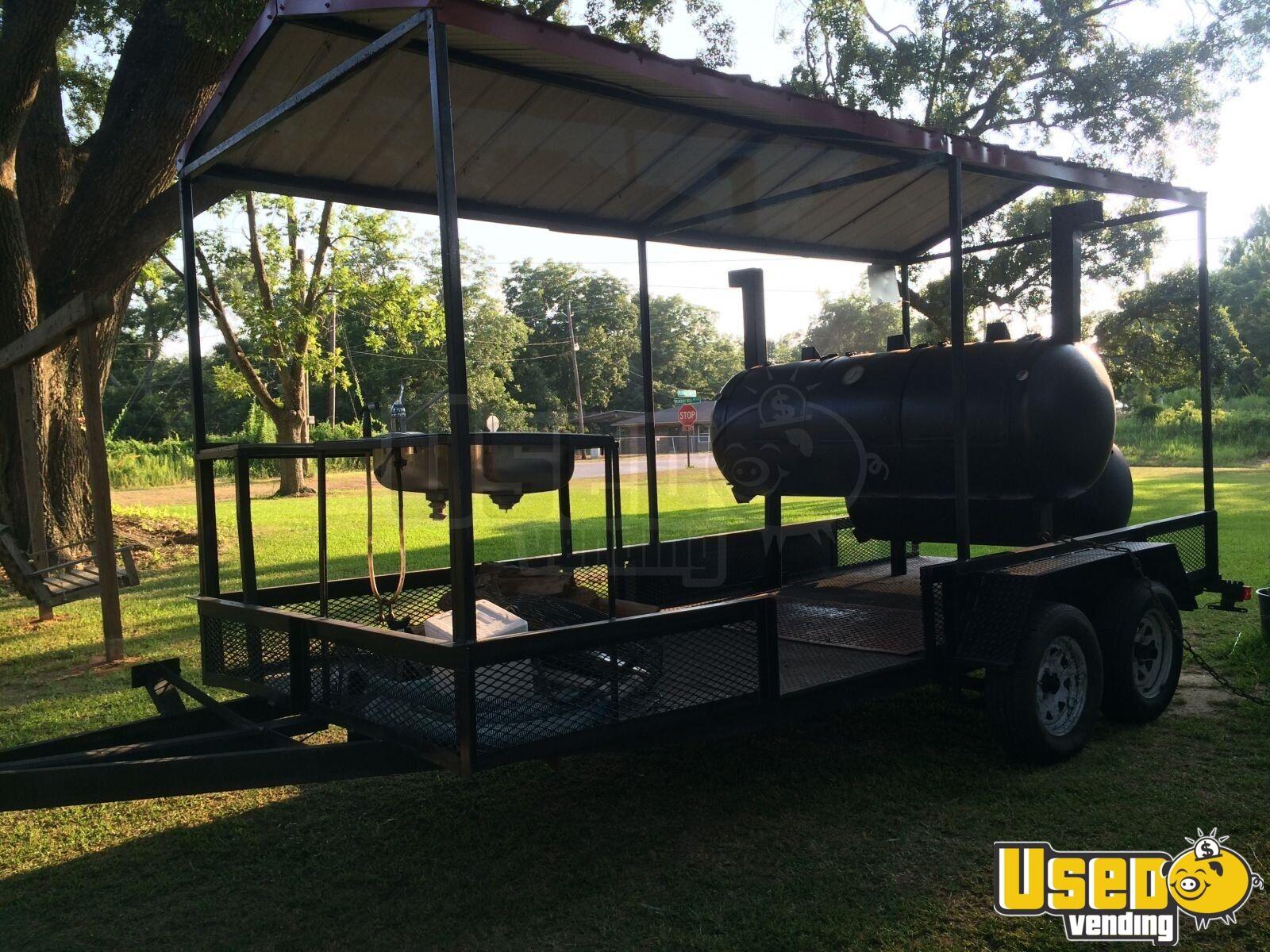 how to build a bbq smoker trailer