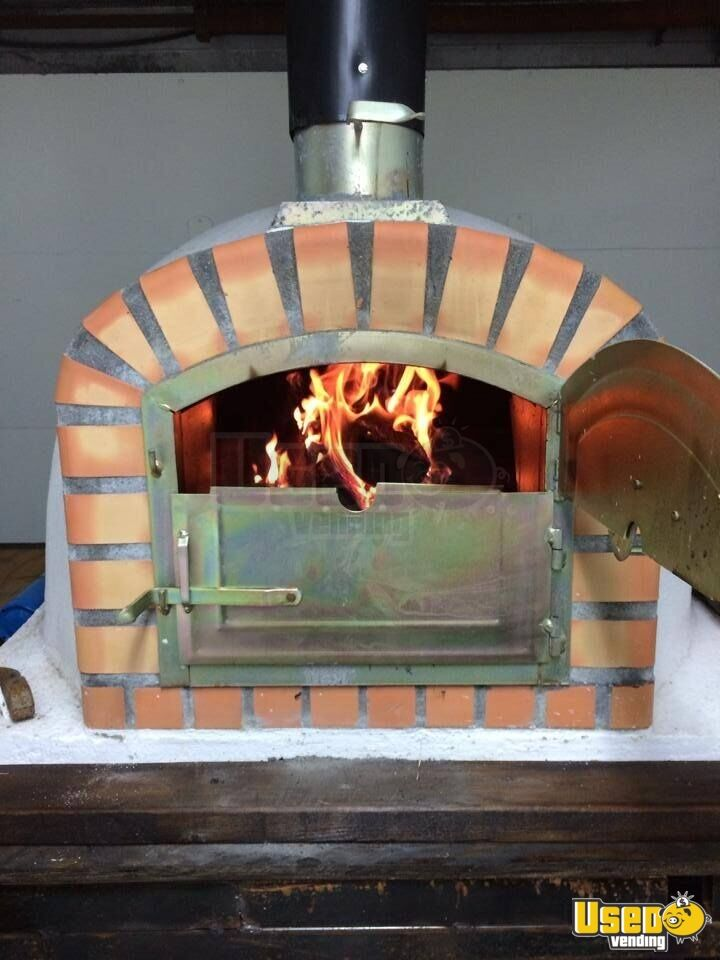 Wood Fired Brick Oven Pizza Pizza Truck Business For