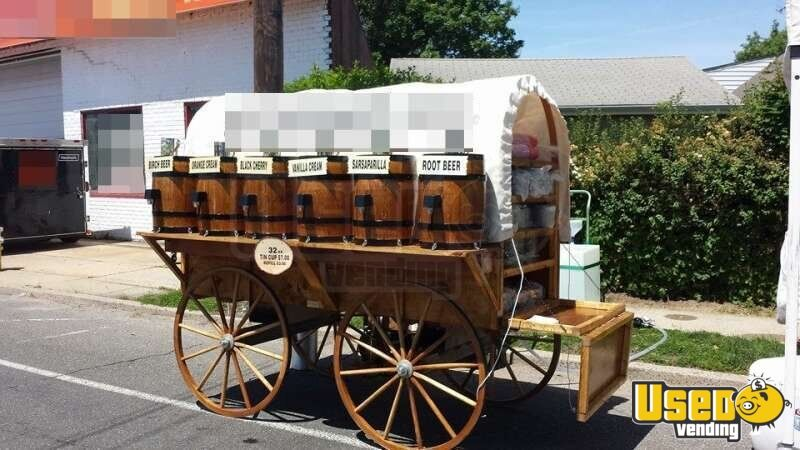 For Sale Used 9 Soda Cart In New York Food Cart