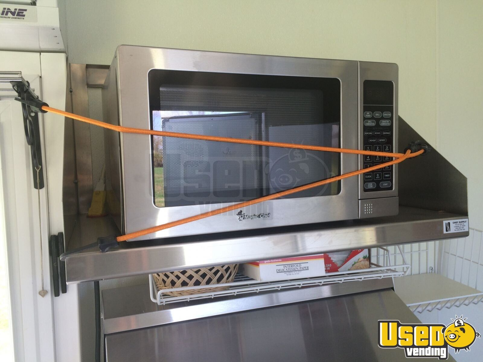 16' Concession Trailer kitchen trailer for Sale in Kentucky #A25A29
