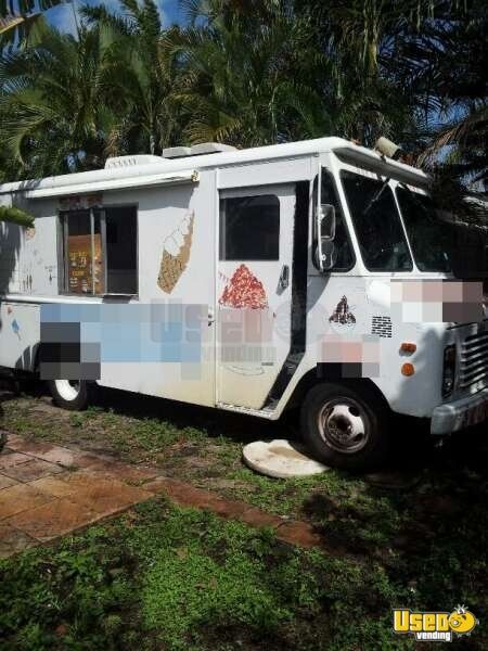 For Sale Used Chevy Ice Cream Truck In Florida Food Truck