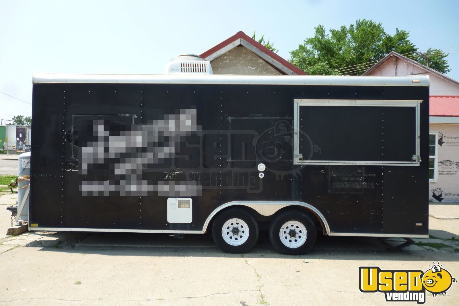 Used 20 Cargo Bbq Trailer In Missouri For Sale