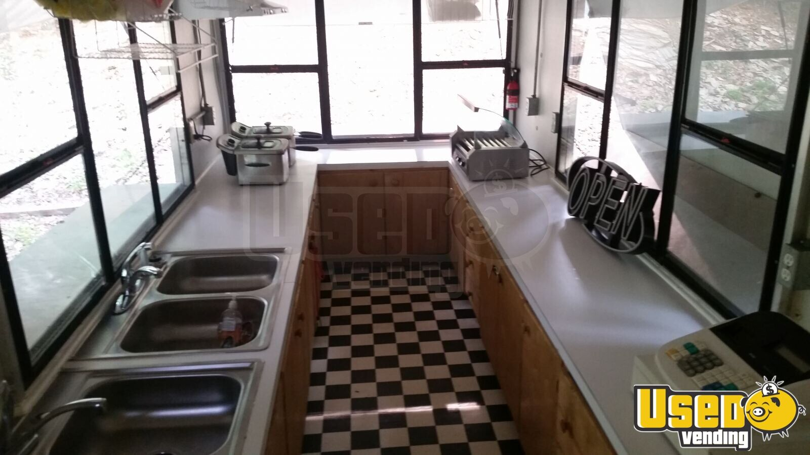 16 Snow Cone And Hot Dog Trailer Kitchen Trailer For