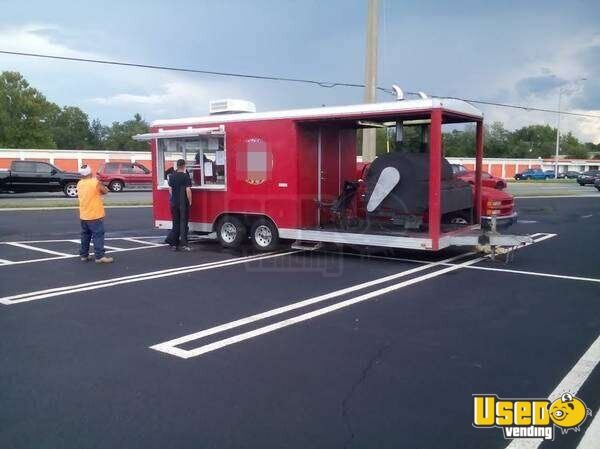 for sale used bbq concession trailer in florida | mobile kitchen