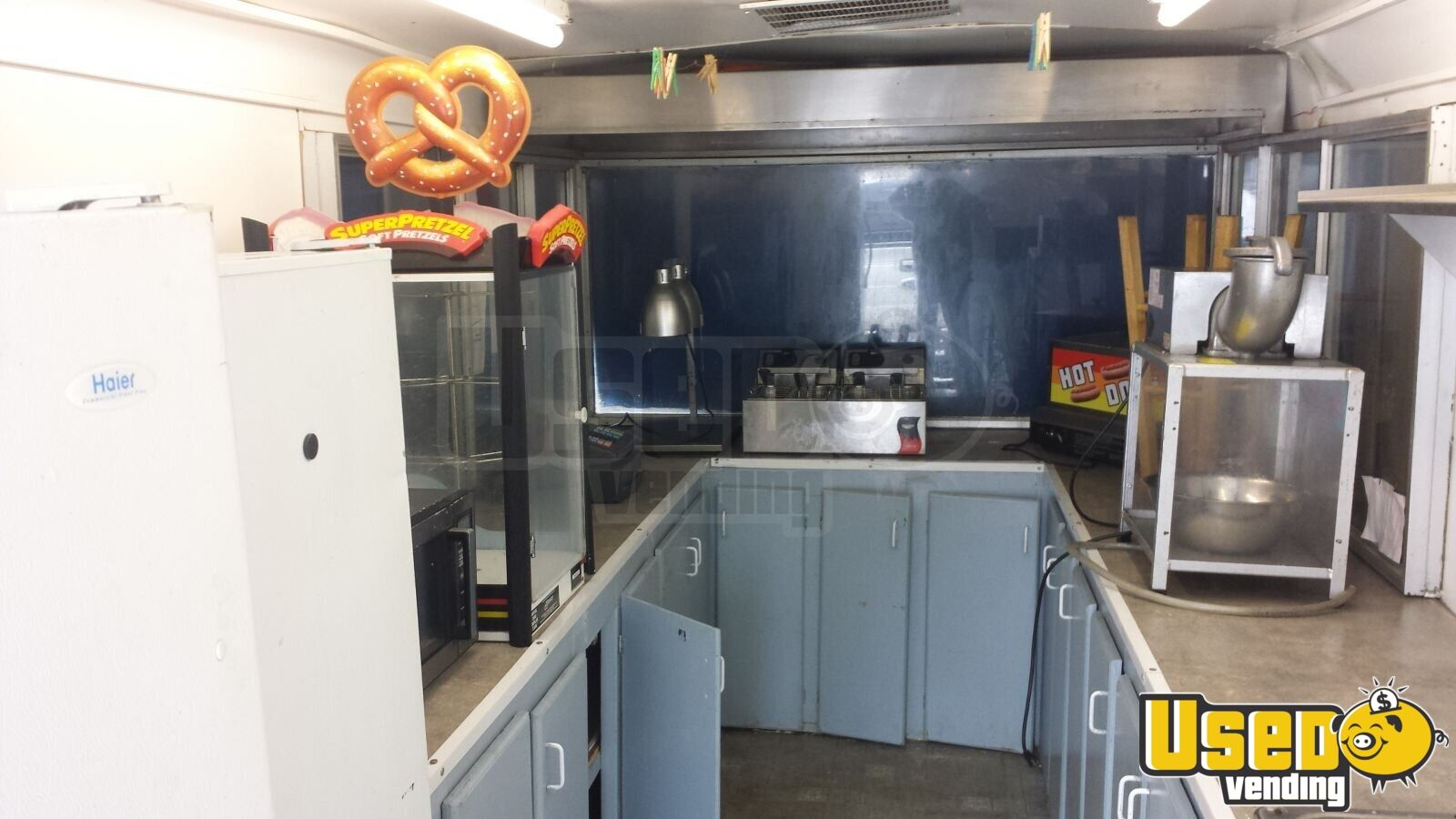 Used Concession Trailer in Michigan for Sale