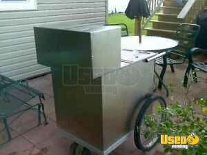 All Stainless Hot Dog Push Cart!!!