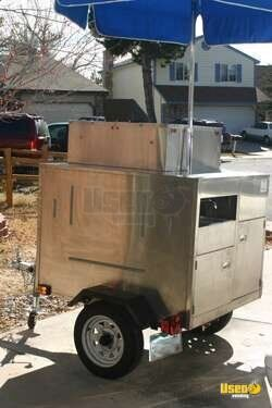 2010 PRECISION INDUSTRIES INC. CUSTOM MADE TOWABLE PIZZA/BREAD/COOKIE /BAKERY CART!!!