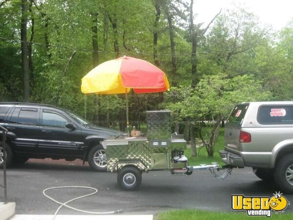 Hot Dog Cart Umbrellas For Sale