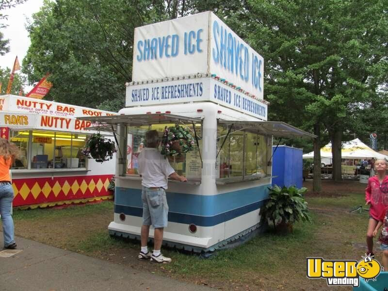 10 Waymatic Shaved Ice Trailer Carnival Concession